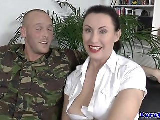 Euro mature in stockings ass fucked