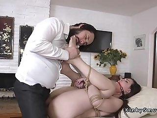 Cop anal dominates big butt victim