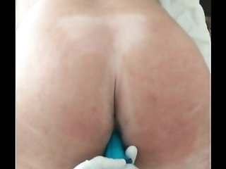 Watch My Submissive Taking A Vibrator In His Ass