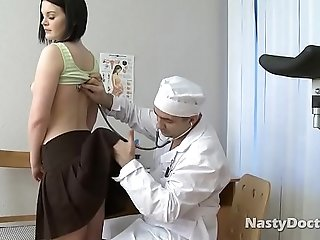 Doctor Wants To Fuck Brunette