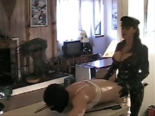 Mistress fuck  her sissy slave