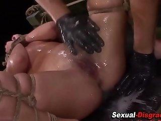 Kinky sluts pussy rammed