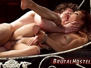 Amateur milf bdsm xxx even has several moaning orgasms.